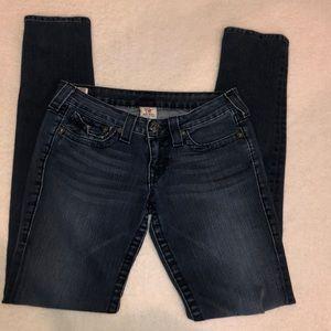 True Religion skinny jeans. Size 27